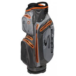 Cobra UltraDry Cart Bag 2019 Grijs/Oranje