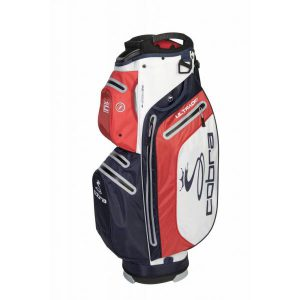 Cobra UltraDry Cart Bag 2019 Blauw/Rood