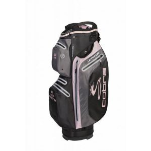 Cobra UltraDry Cart Bag 2019 Zwart/Roze
