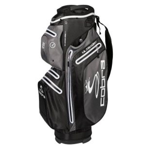 Cobra UltraDry Cart Bag 2019 Zwart/Wit