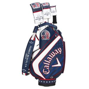 Callaway Britisch Major Limited Golf Staff Bag Blauw/Wit