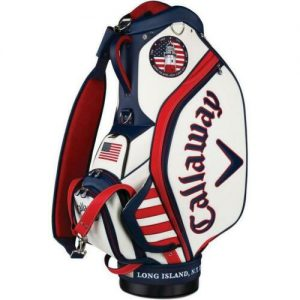 Callaway June Major Limited Staff Bag Rood/Wit