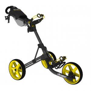 Golf Trolley Clicgear 3.5 Geel/Zwart