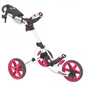 Golf Trolley Clicgear 3.5 Roze/Wit