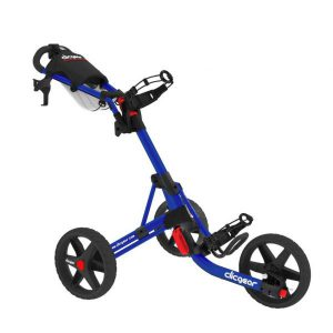 Golf Trolley Clicgear 3.5 Blauw