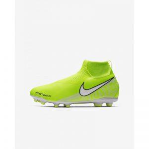 Nike Phantom Vision  Academy DF FG Limegroen