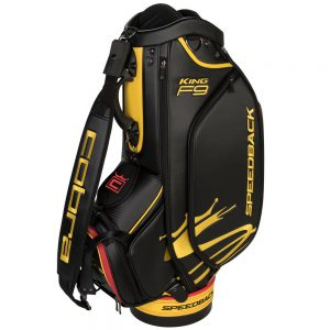 Cobra Golftas Speedback Staff Bag 2019 Zwart/Geel