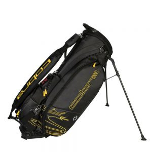 Cobra Tour Crown Stand Bag 2019 Zwart/Geel