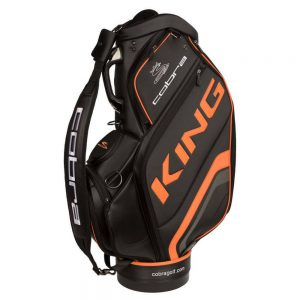Cobra King Limited Staff Bag Zwart/Oranje