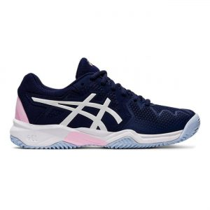 Asics Gel-Resolution 8 Clay GS Donker-blauw