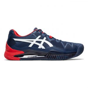 Asics Gel-Resolution 8 Clay BlauwRoodWit